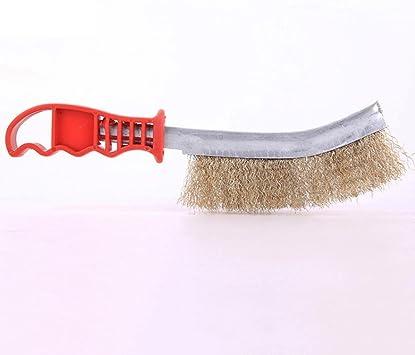 Cepillo de alambre de metal para eliminar el óxido, multiusos, herramienta para quitar pinturas, pinceles de alambre para limpiar: Amazon.es: Bricolaje y herramientas