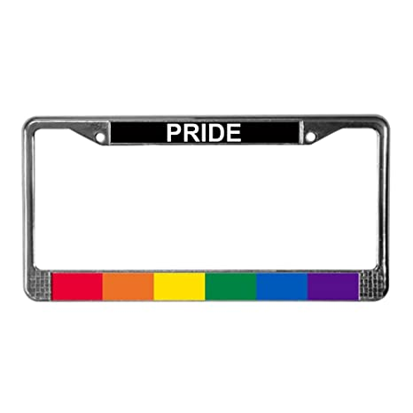 Lesbian motorcycle license plate covers