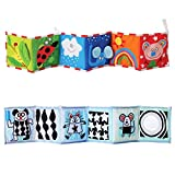 YeahiBaby Clip-on Pram Book for Baby Stroller Pram Carriage and Crib Entertainment and Development (Ladybug Pattern)