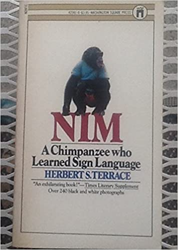 Book Nim, A Chimpanzee who Learned Sign Language