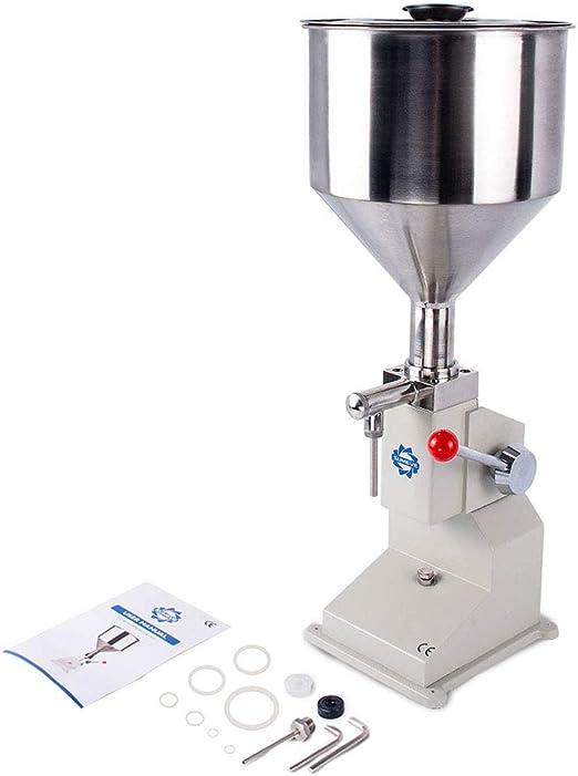 Sumeve Manual Filling Machine Filling 5-50ml Bottler Filler For Liquid and Paste A03