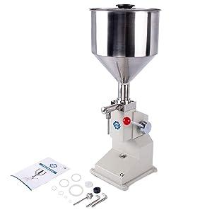 Sumeve Manual Filling Machine Filling 5-50ml Filling Bottler Filler(A03)