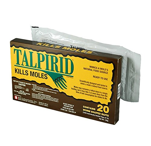 (Talprid Moles Bait 1/2 Box(10 Worms Shaped Baits), Model: , Home/Garden & Outdoor Store)
