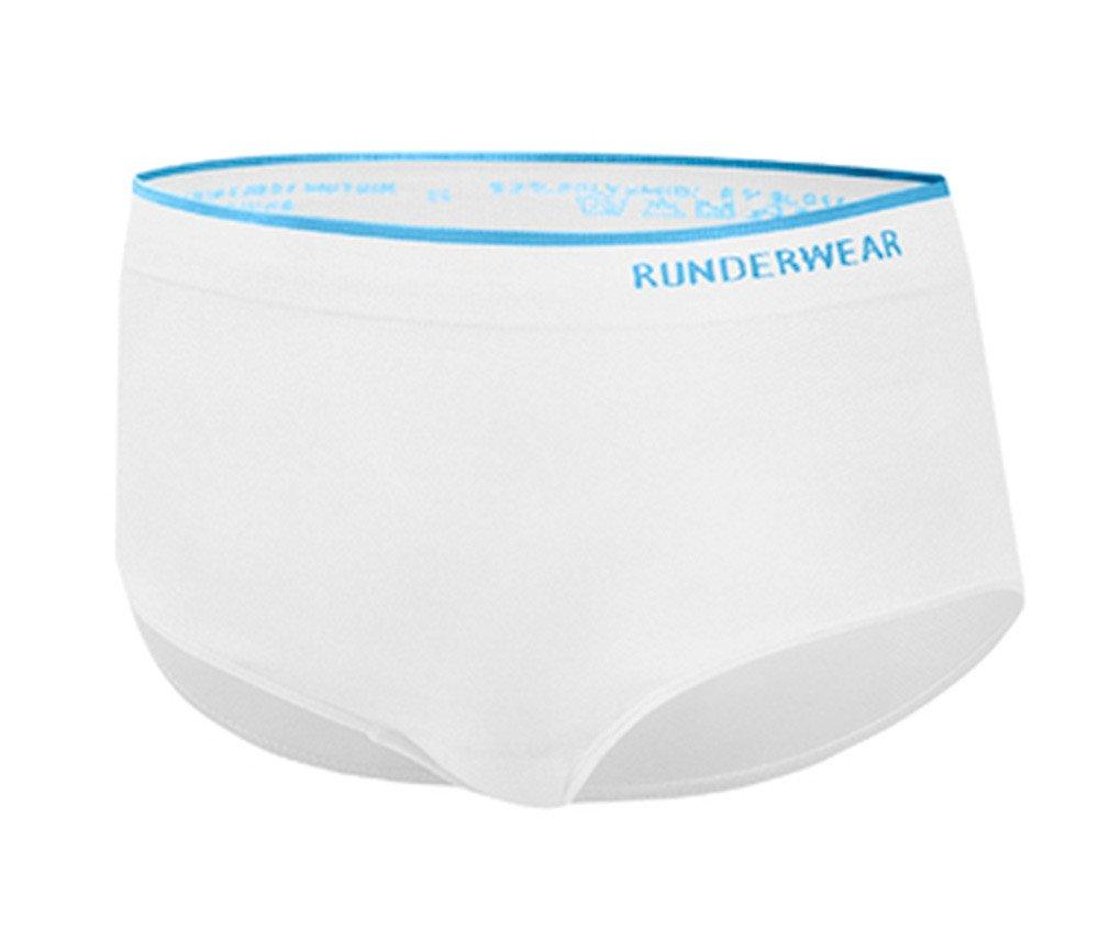 Runderwear Women's Running Briefs - SS18 - Medium - White