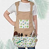 Canvas Garden Tool Apron Gardening Workers Apron
