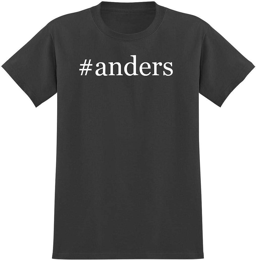 #anders - Hashtag Men's Graphic T-Shirt, Grey, Medium