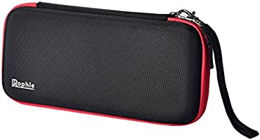 Nintendo Switch Carrying Case, Rophie Protective Storage Bag for Nintendo Switch