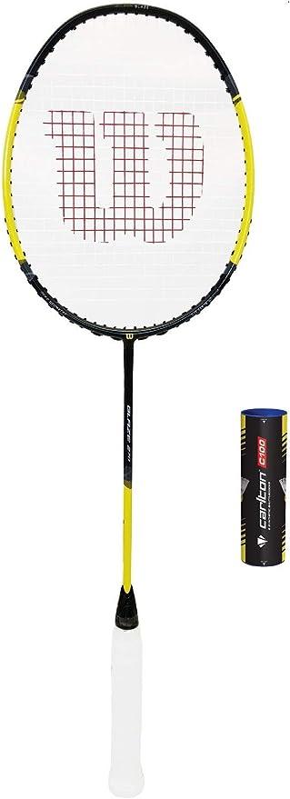 6 Shuttlecocks RRP £90 Wilson Blaze Badminton Racket