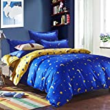 Duvet cover,autumn and winter individual double Quilt cover dorm room Comforter cover Bedding set (Include:Quilt coverx1)-A 70.8x86.6inch(180x220cm)