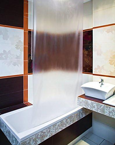 Tropik Home Baño Cortina de Ducha Estor Extra Largo, Ancho de 4 ...