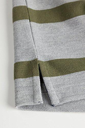 JP 1880 Herren groe Gren Poloshirt khaki XXL 702590 44-XXL