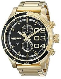 Diesel Men's DZ4337 Analog Display Analog Quartz Gold Watch