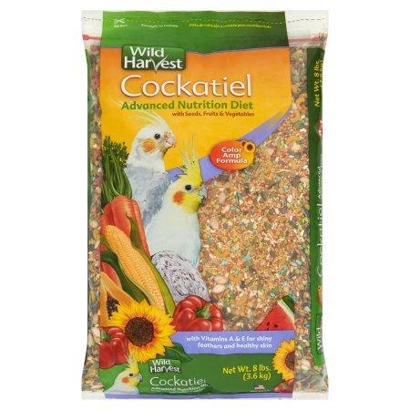 Wild Harvest Cockatiel Advanced Nutrition Diet Blend, 8 lb (1)