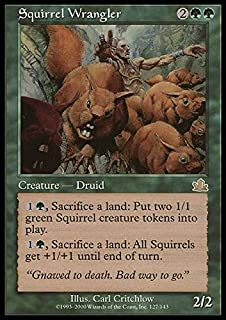 Amazon.com: Magic: the Gathering - Form of the Squirrel - Unhinged ...