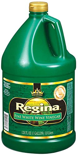 Vinegar Regina White Wine Champagne Stock , 1 Gallon -- 4 per case