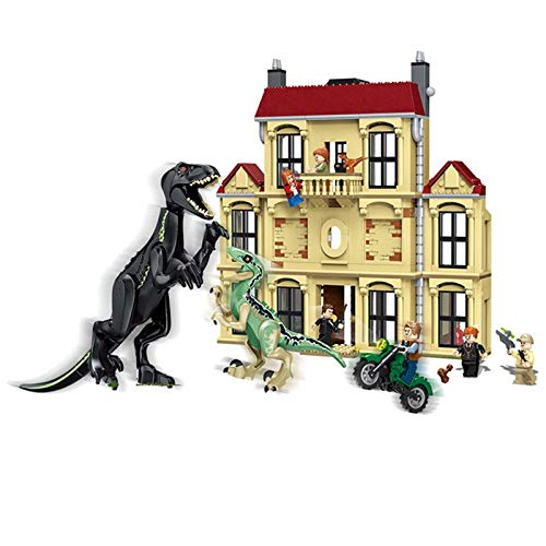 Jurassic World 2 Legoing 75930 1046pcs Dinosaur Indoraptor Rampage At Lockwood