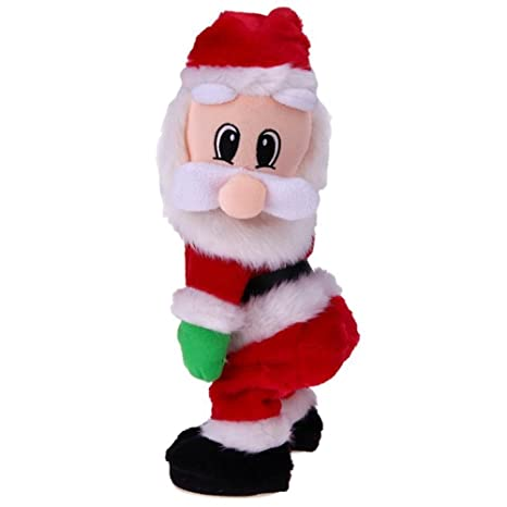 christmas electric santa claus toy music dancing doll xmas christmas gifts toys christmas decorations for home
