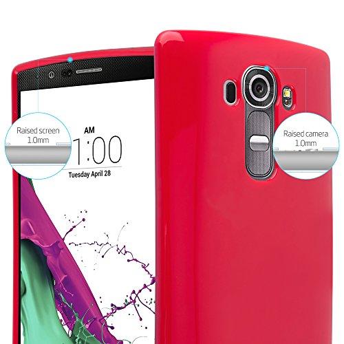 Cadorabo - Cubierta protectora para >                                  LG G4                                  < de silicona TPU en Diseño Jelly