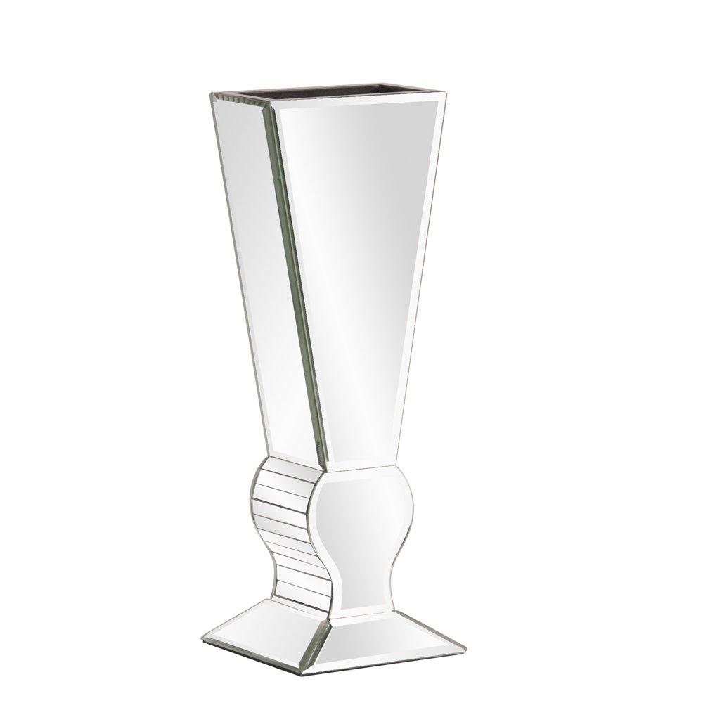 Howard Elliott 99012 Mirrored V-Shaped Vase Small