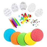 Darice 106-6676D 457 Piece Foam Easter Egg Party Pack