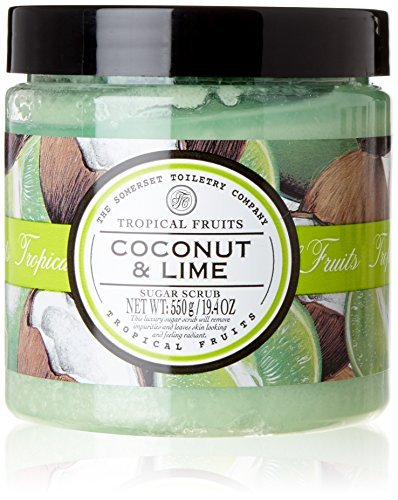 Price comparison product image Tropical Fruits Exfoliating Sugar Scrub, Coconut and Lime