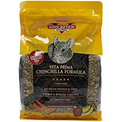 Sunseed Company 49130 Vita Prima Chinchilla 3 Pounds