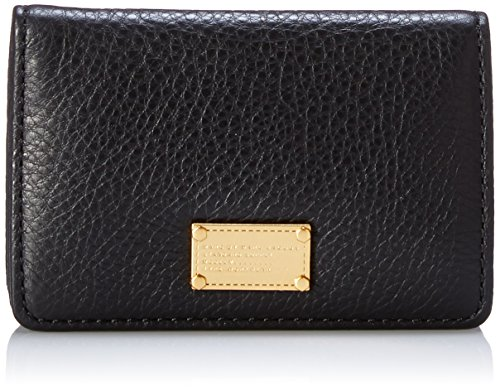 Marc by Marc Jacobs Classic Q Business Card Case Card Case, Black, One Size by Marc by Marc Jacobs (Image #1)'