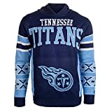 NFL Tennessee Titans Big Logo Hooded Sweater, X-Large, Team Color