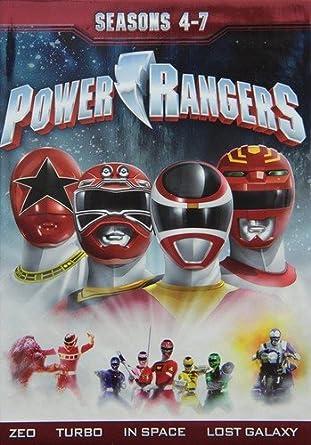 Power Rangers: Season 4-7 [Reino Unido] [DVD]: Amazon.es: Cine y Series TV