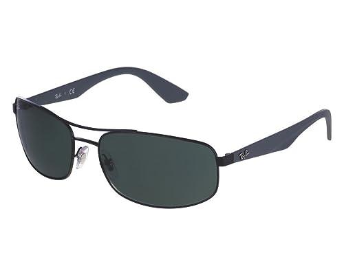beedc7891e Ray Ban RB3527 006 71 61 Matte Black Gray Green Sunglasses Bundle-2 ...