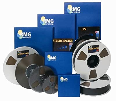 RMG/EMTEC Studio Mastering Tape 911 Series/ 1/4'x1200' 7' from RMG
