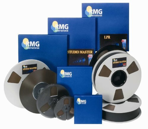 RMG/EMTEC Studio Mastering Tape 911 Series/ 1/4'x2500', 10.5' by RMG