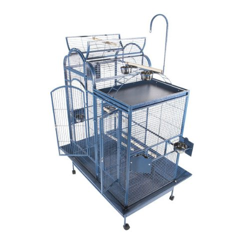 A&E Cage PC-4226D Black Split Level House Bird Cage, 42'' x 26'' by A&E Cage