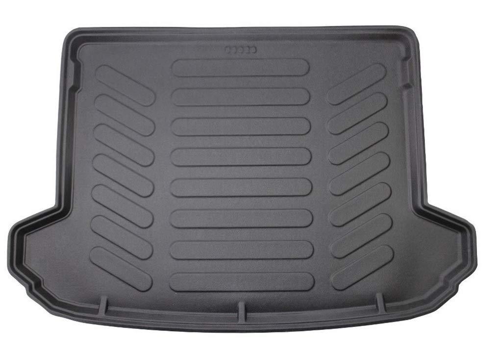 Car Mats Bespoke Sportage MK4 boot mat liner 2016-2019 Premium custom tailored fit rubber black heavy duty waterproof