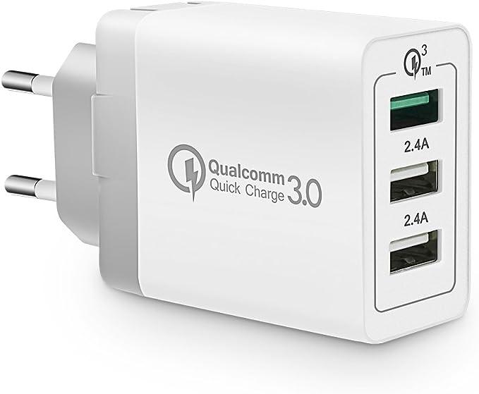 Voimakas Usb Ladegerät 3 Port Netzteil Lade Adapter Elektronik