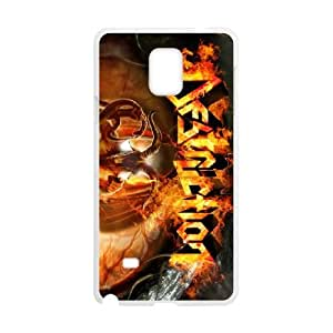 Samsung Galaxy Note 4 Cell Phone Case Covers White Destruction
