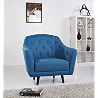 Gold Sparrow Aurora Arm Chair, Blue
