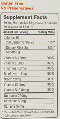 FRS Healthy Energy Powdered Drink Mix Low Cal Orange 22 Ounce14 Packets Discount