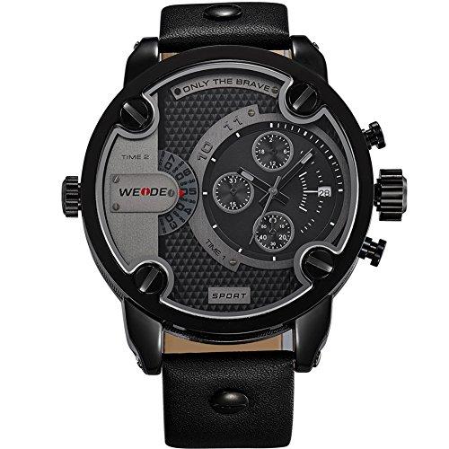 Oversize Military Daddies Wristwatch Movement