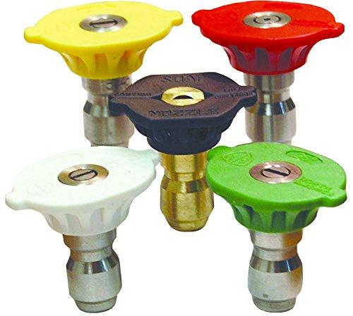 1 GPM Maximum Flow Rate 4.0 Nozzle Size Dixon NZMMEG5P-040 Multi-Pack Hi Pressure MEG Nozzle Includes 5 Nozzles