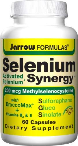 Jarrow Formulas sélénium Synergy, 60 Capsules (pack de 3)