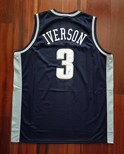 Georgetown Hoyas Autographed Jersey Georgetown Signed Jersey