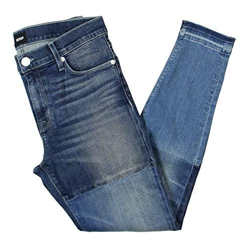 Hudson Jeans Women's Isla Midrise Crop Skinny with Released Hem Jean, HIGH Marks 32