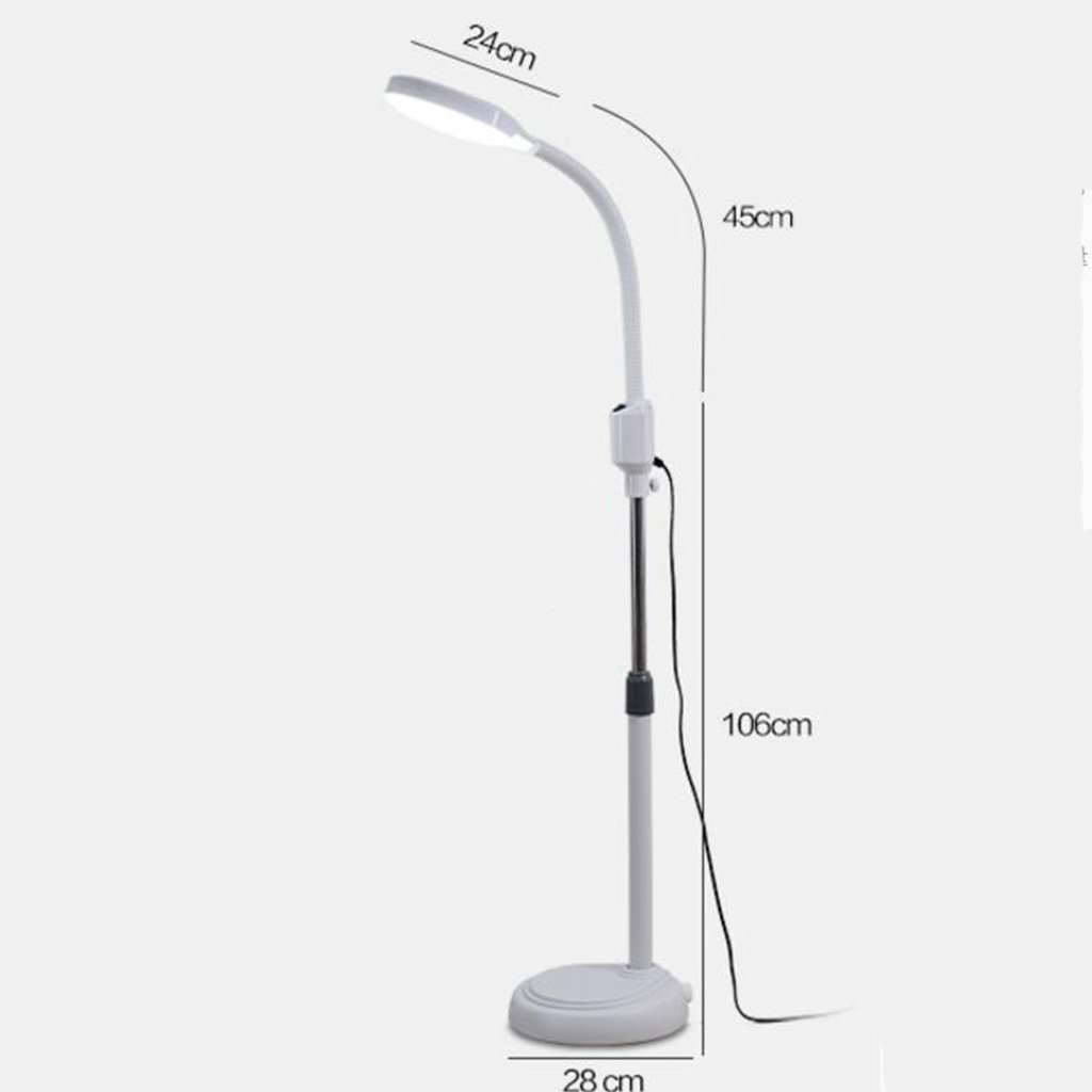 Amazon.com: SX-ZZJ @Floor Lamps 8X Diopter LED Magnifying ...