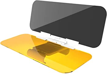 SAILEAD 2 in 1 Car Sun Visor
