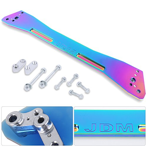 (Ajp Distributors Rear Suspension Tie Bar Brace Neo Chrome Subframe For Honda Civic/Del Sol/Acura Integra Ex Eg Ej Gs Rs Ls Gs-R Dc2 Upgrade Performance Replacement Racing Kit)