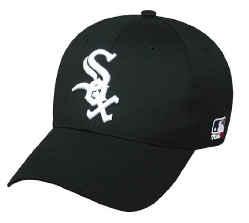 3bcbe660fa5 Amazon.com   Chicago White Sox ADULT Adjustable Hat MLB Officially Licensed  Major League Baseball Replica Ball Cap   Sports Fan Baseball Caps   Sports    ...