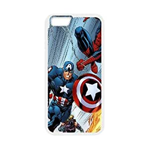 iPhone 6 Plus 5.5 Inch Cell Phone Case White Ultimate Heros Illust Art SUX_173267
