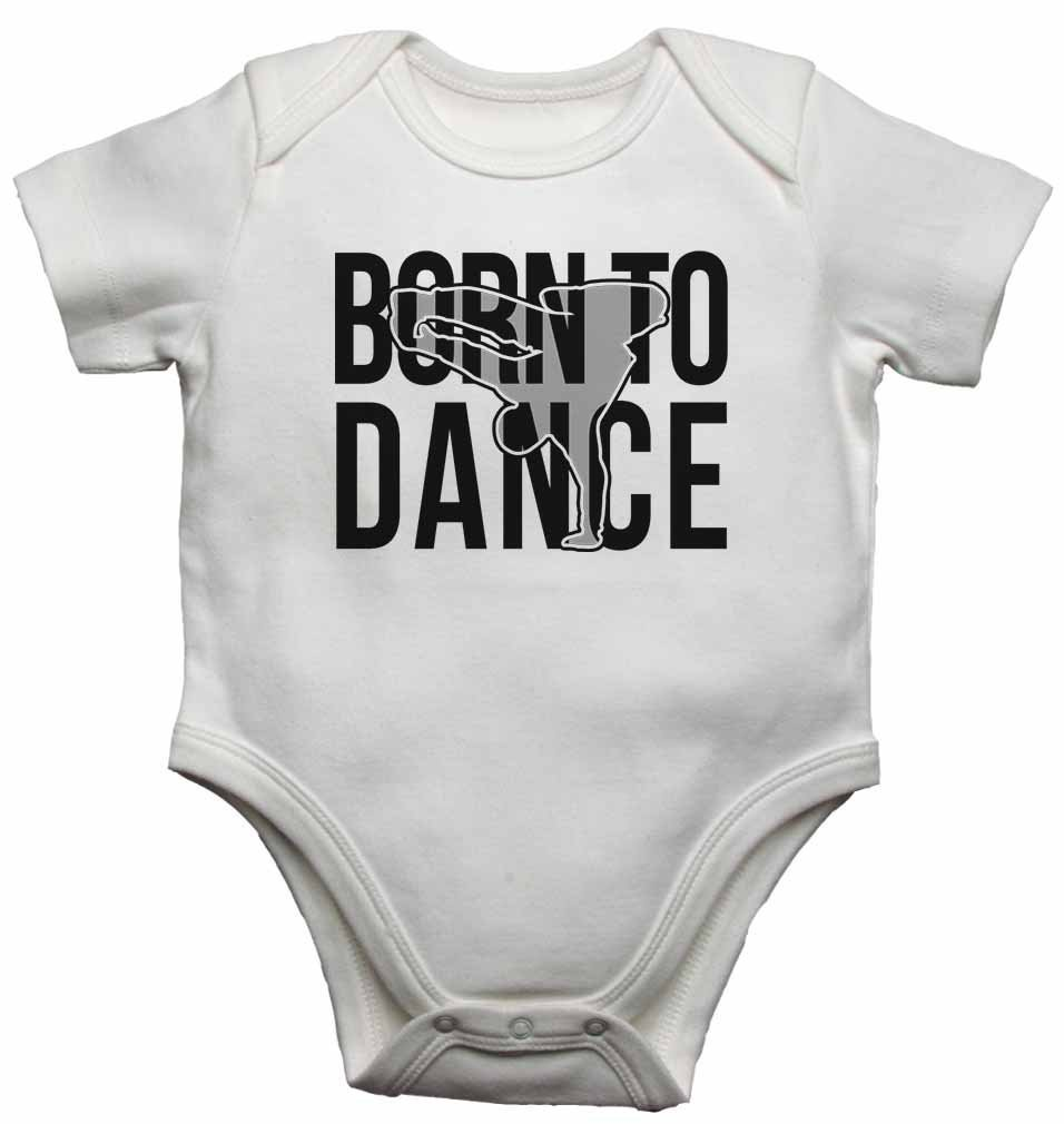 267a8700f Amazon.com  Born to Dance - Personalised Baby Vests Bodysuits Baby ...