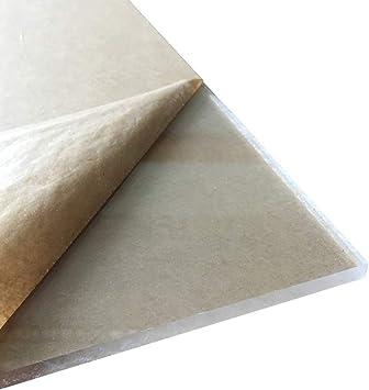 Clear Acrylic Plexiglass sheet 1//8 x 12 x 12